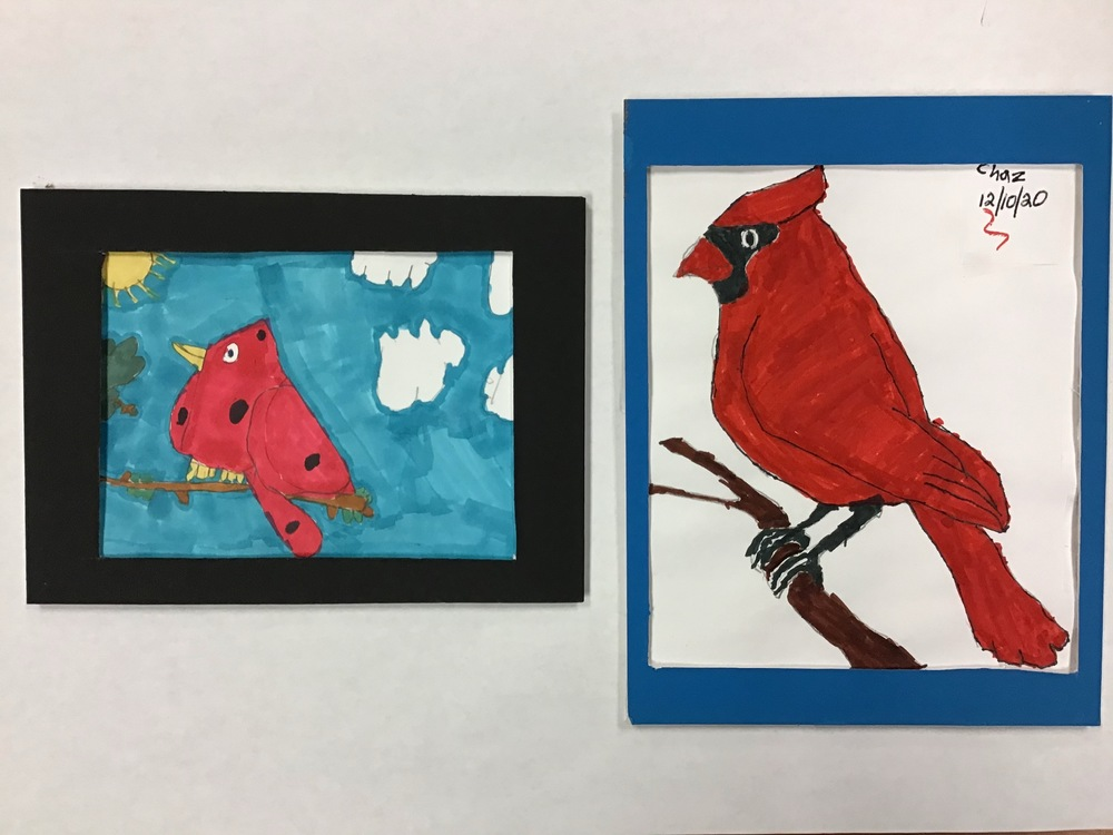 "3rd & 4th Grade Artwork Selected for ""Almost Heaven"" Contest"